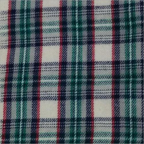 Cotton Yarn Dyed Twill Brushing Fabric