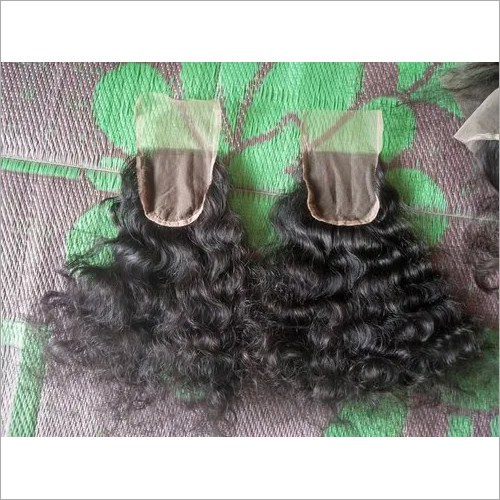 Natural Curly/Deep Wavy Indian Hair Closures