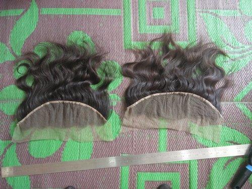 Raw Wavy Indian Hair Frontals