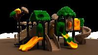 Jungle Slide Outdoor Playground
