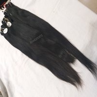 100% Cuticle Aligned Drawn Straight Virgin Human Hair Extensions