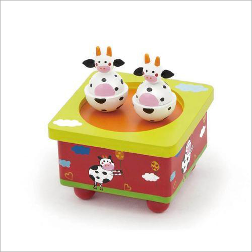 Cow Musical Box