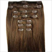 Brown Clip Hair Extensions