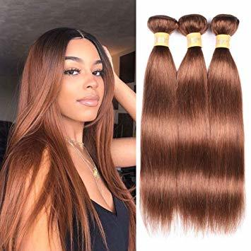 Brown Human Virgin Hair