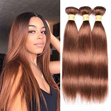 Brown Human Virgin Hair