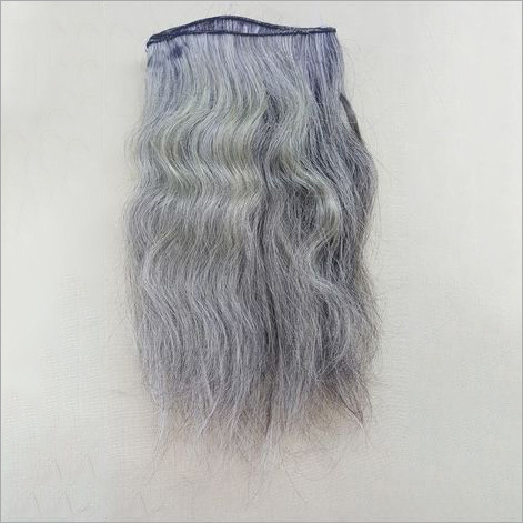 Grey Human Hair