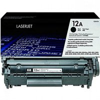 HP Black Printer Cartridges Q2612A