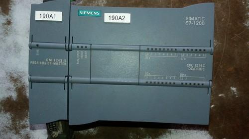 Siemens S7-1200 CPU 1214C  PLC