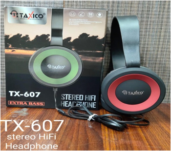 Tx- 607 Stereo Hifi Headphone