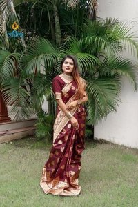 Printed Chanderi Cotton Silk Sarees