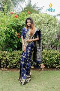 Printed Chanderi Cotton Silk Sarees