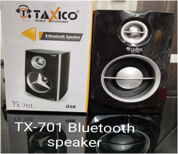 TX-701 BLUETOOTH SPEAKER