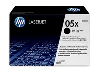 HP 05X High Yield Black Original Laserjet Toner Cartridge CE505X