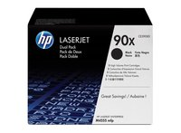 HP 90X High Yield Black Original Laser jet Toner Cartridge CE309XD