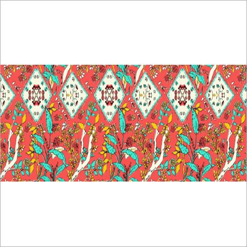 Polyester Designer Fabric Dye Service
