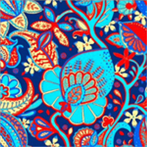 Polyester Crepe Printed Fabric