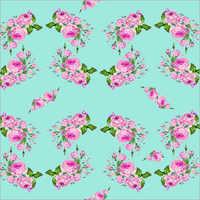 Polyester Designer Print Fabric