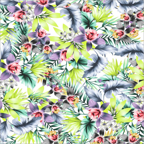 Customized Printed Polyester Fabric