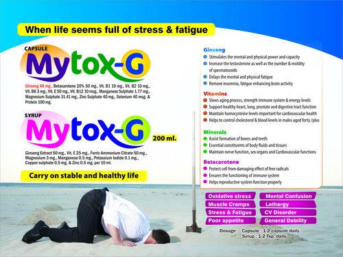 Antioxidant(Ginseng Extract,Vit.E,Ferric Ammonium Citrate,Magnesium,Pot.Iodide,Copper Sulphate,Zinc
