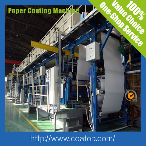 High Grade Paper Coating/Making Machine for Thermal Label Paper