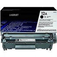 HP 12A Black Laserjet Toner Cartridge Q2612A
