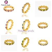 Amethyst 925 Silver Band Ring