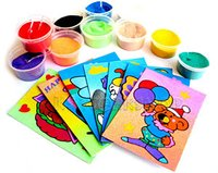 Sand Art Craft Cards
