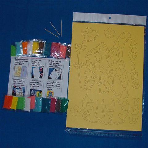 Sand Art Craft Kit