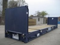 40ft Flat Rack Shipping Container