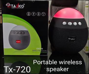 TX-720 PORTABLE WIRELESS SPEAKER