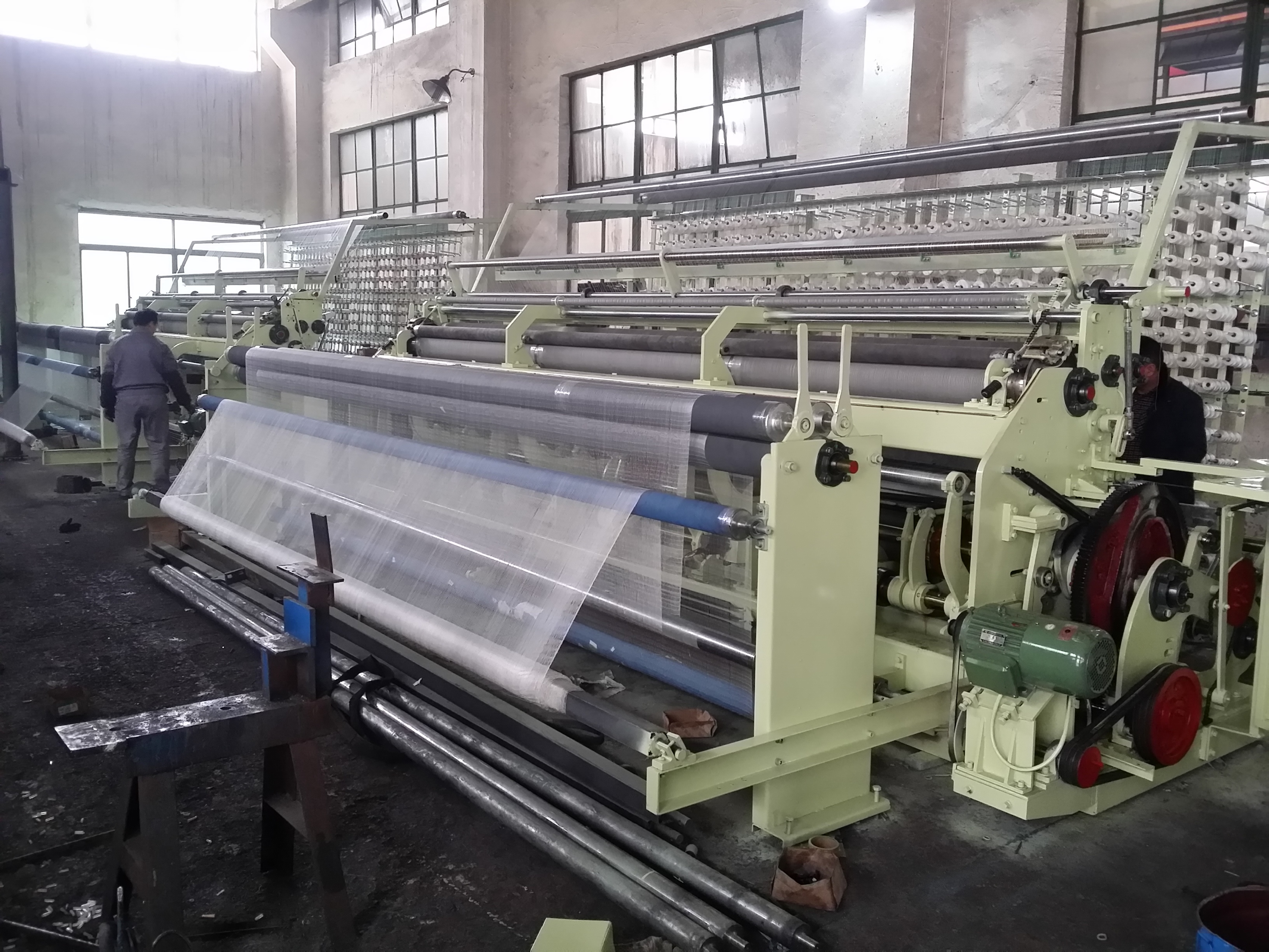 High speed CTA Fishing Net Machine for single, double and U-knot