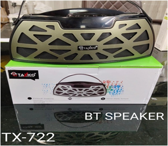 TX-722 WIRELESS BLUETOOTH SPEAKER