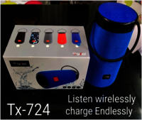 Tx-724 Portable Wireless Speaker