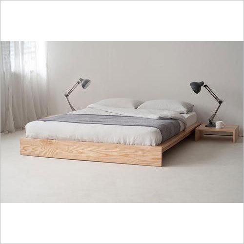 Ankle Platform Wooden Bed