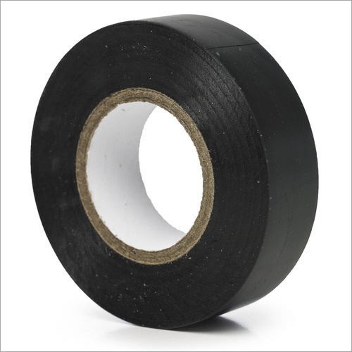 Plain Black Adhesive Tape