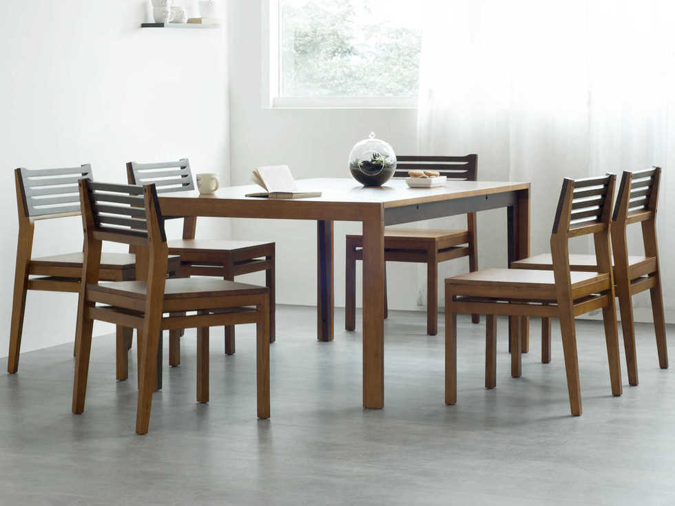 Dining table Set Dual tone 6 seater Monarch