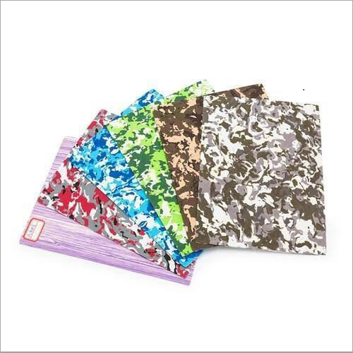 Multicolor Slipper Sole Sheet