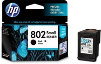 HP 802 Small Black Ink Cartridge-CH561ZZ