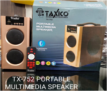 Tx-752 Portable Multimedia Speaker