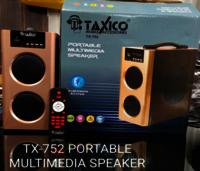TX-752 PORTABLE MULTIMEDIA SPEAKER