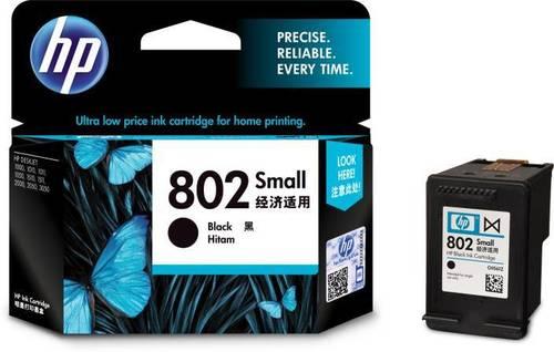 HP 802 Small Black Ink Cartridge-CH561ZZ