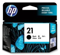 HP 21 Black Inkjet Printer Cartridges-C9351AA