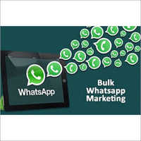 Bulk Whats App Advertisement Services