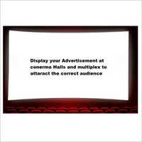 Cinema Hall Advertising Service