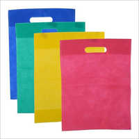 D Cut Plain Non Woven Bag
