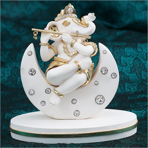 Resin Marble Ganesh Statue