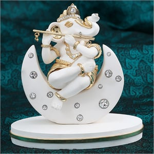 Resin Marble Ganesh Statue