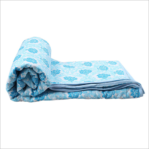 Reversible Cotton AC Single Blanket