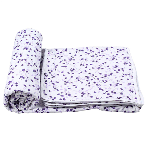 Reversible Pure Cotton AC Single Blanket