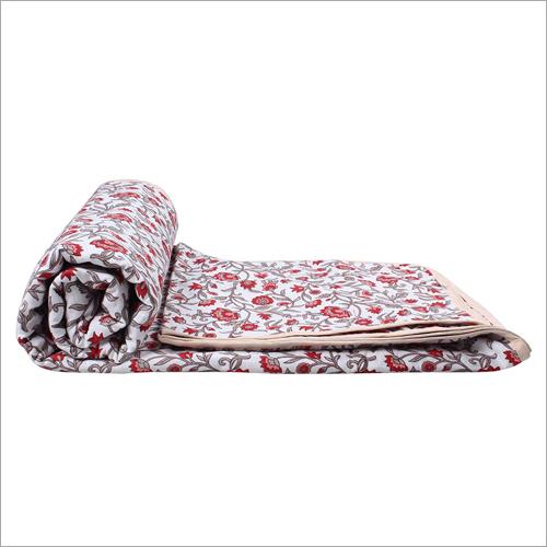 Reversible Cotton Dohar AC Single Blanket